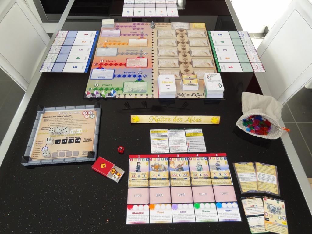 Une photo de l'un des vieux prototypes du jeu !