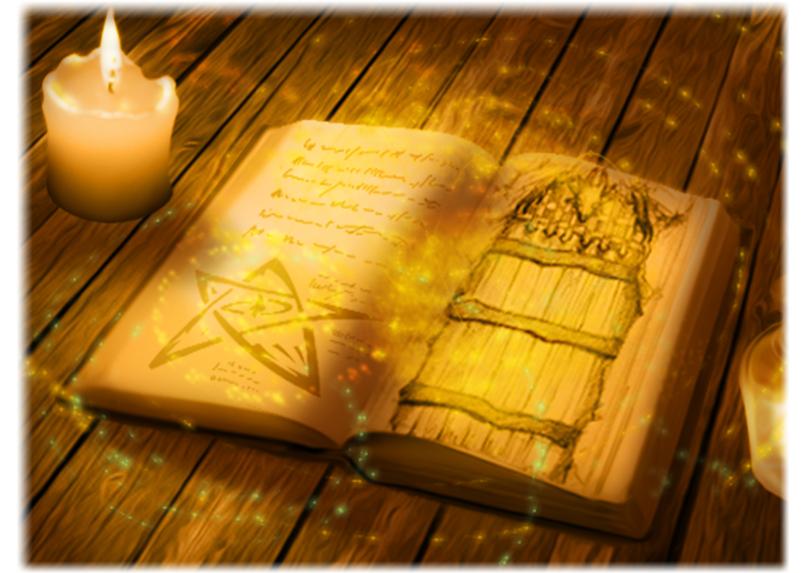 Un livre de magie (Illustration : Jérémie)