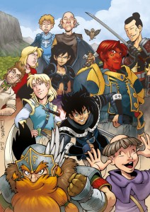 Les personnages de l'aventure de la saga mp3